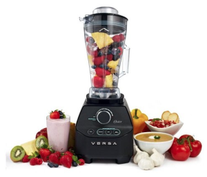 Oster Versa 1400-watt Professional Performance Blender, Including 64 oz Tall Jar, Recipe Book and 7 Year Warranty, BLSTVB-000-000