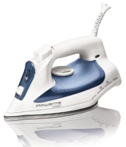 Rowenta DW2070 Effective Comfort Steam Iron with 300-Hole Stainless Steel Soleplate 1600 Watt