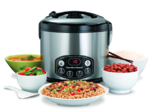 Hamilton Beach Digital Simplicity Deluxe Rice Cooker:Steamer