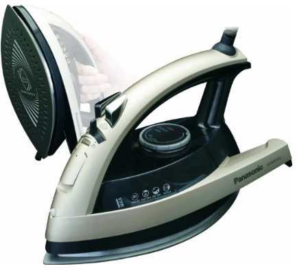 Panasonic NI-W810CS Multi-Directional Steam Iron w:Ceramic Soleplate