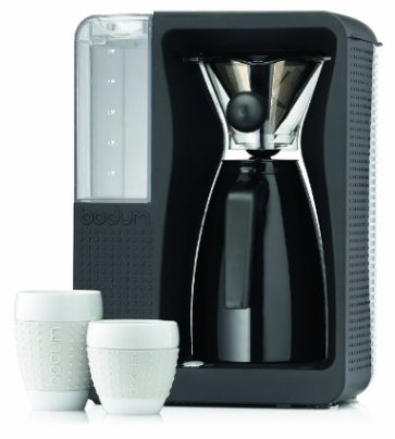 BODUM 11001-01US Bistro B. Over Automatic Pour-Over Electric Coffeemaker