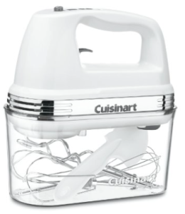 Cuisinart HM-90S Power Advantage Plus 9-Speed Handheld Mixer with Storage Case