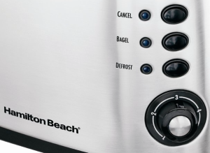 Hamilton Beach 2-Slice Toaster - controls
