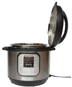 Instant Pot IP-DUO60 pressure cooker with open lid