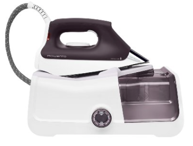 Rowenta DG8430 Pro Precision Steam Iron Station with 400 hole Stainless Steel soleplate 1800 Watt