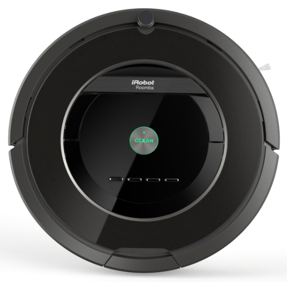 iRobot Roomba 880 Vacuum Cleaning Robot For Pets and Allergies - top view