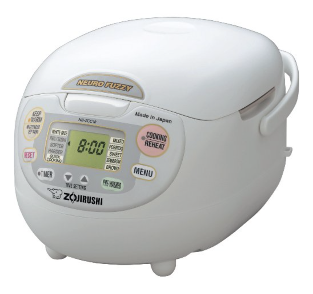 Zojirushi NS-ZCC18 Rice Cooker