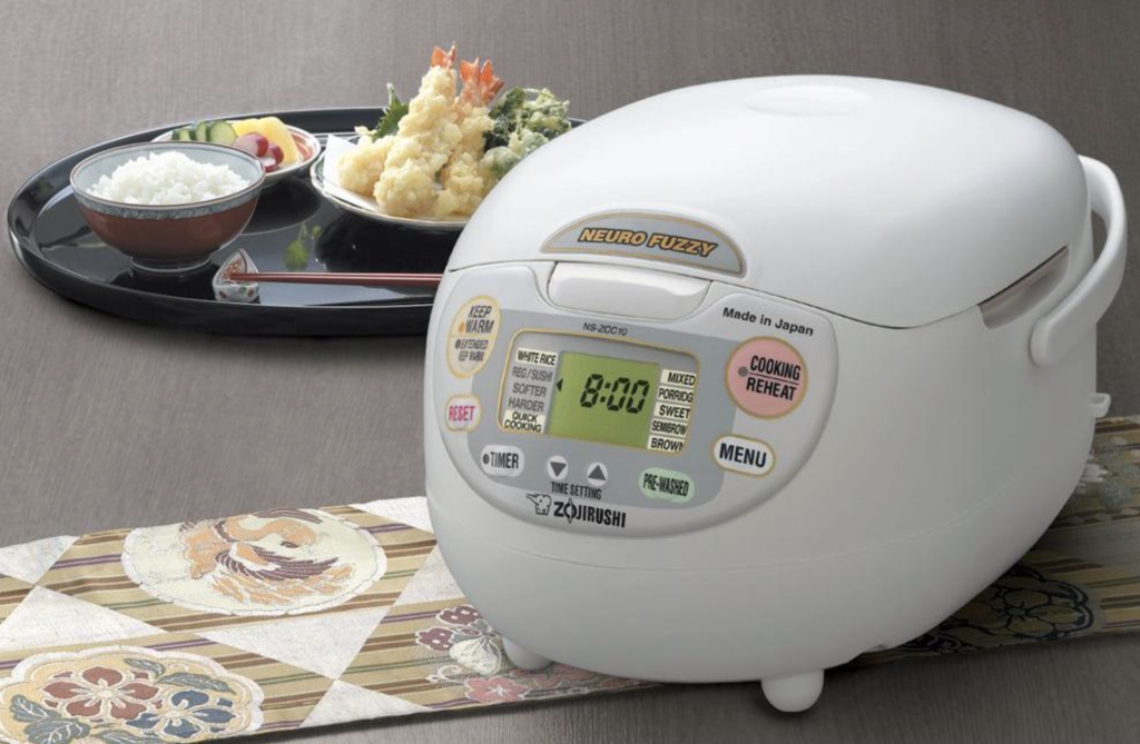 Zojirushi NS-ZCC18 Rice Cooker - best and simple