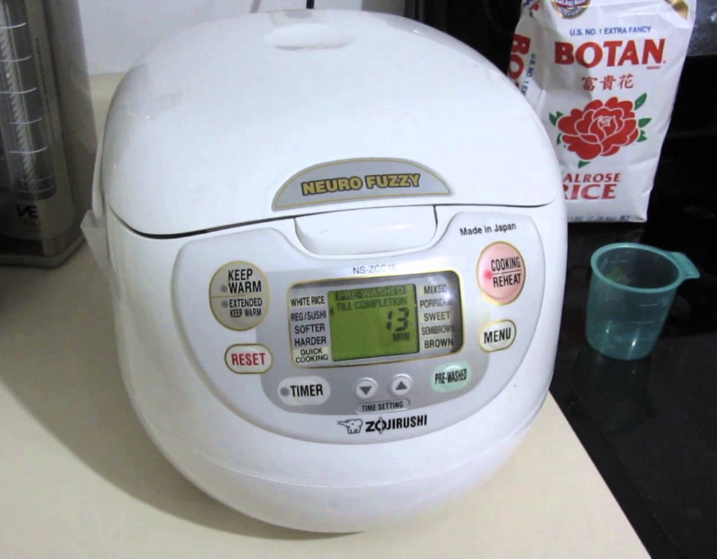 Zojirushi NS-ZCC18 Rice Cooker - make rice quickly and simple